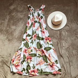 Smoked top  Hawaii Dress